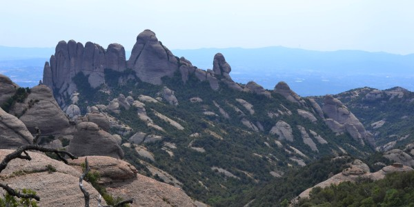 Hiking Montserrat to recharge. Nothing beats the outdoors and an uphill climb to recuperate!